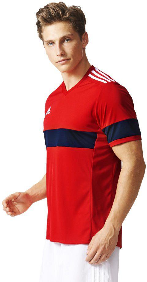 Adidas Koszulka meska Konn 16 czerwona r. S (AJ1366) AJ1366