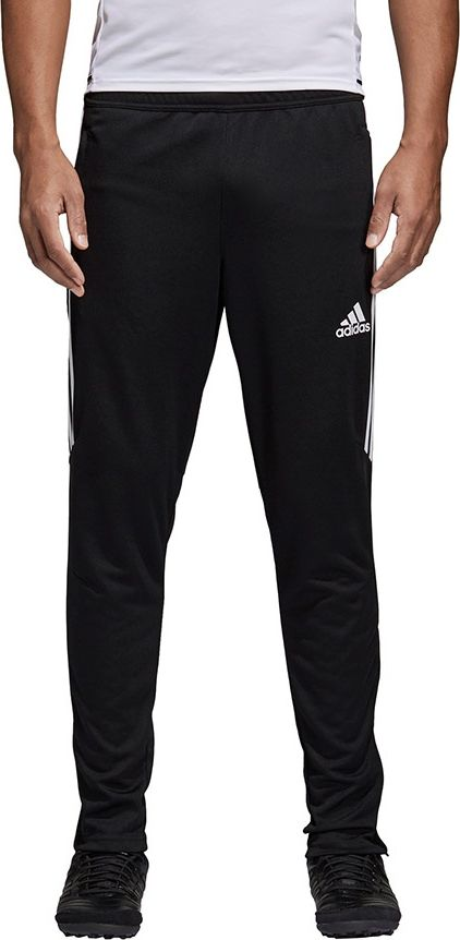 Trouers football Adidas Tiro 17 Training (men's; S; black and white color)