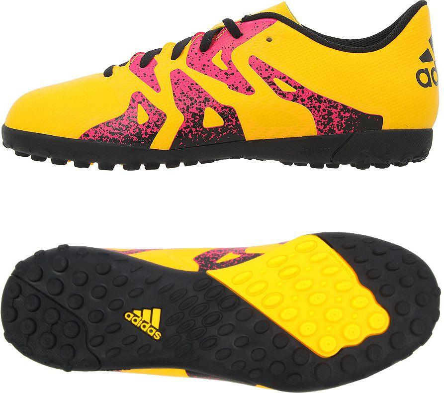 Adidas Buty pilkarskie X 15.4 TF J zolte r. 36 (S74611) S74611