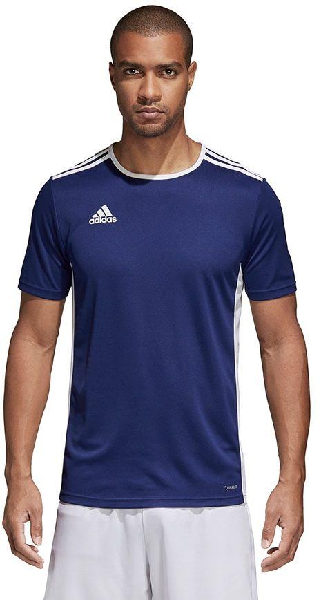 Adidas Koszulka pilkarska Entrada 18 granatowa r. L (CF1036) CF1036