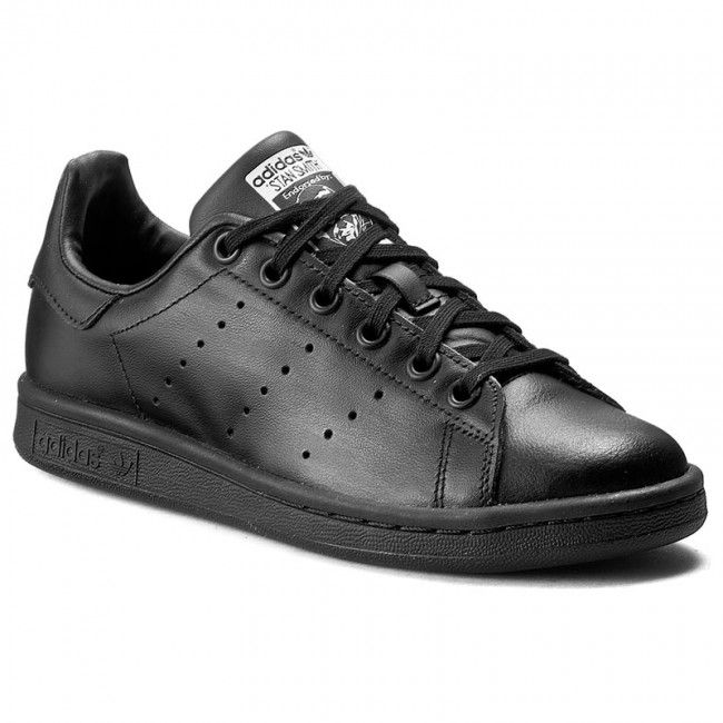 Adidas Buty dzieciece Stan Smith czarny r. 37 1/3 (M20604) M20604