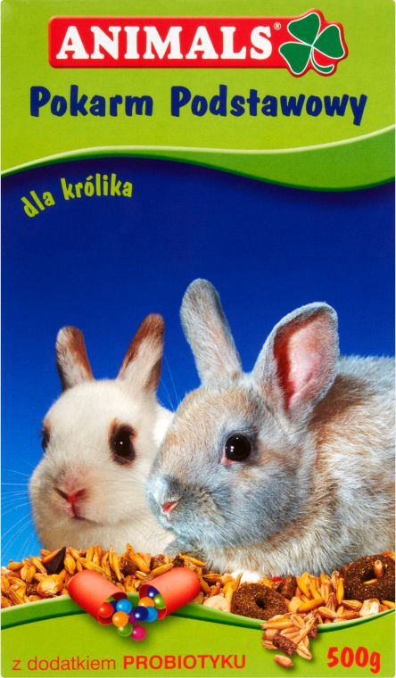 Animals 500g KROLIK I GRYZON 02584