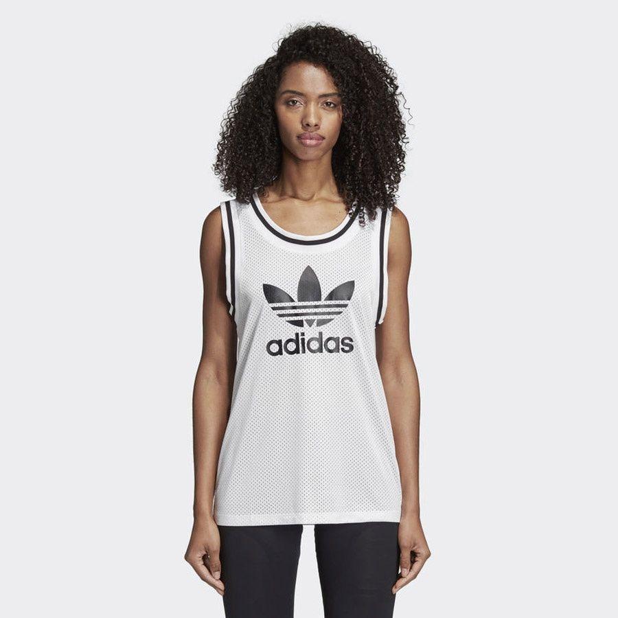 Adidas Koszulka damska AA-42 Mesh biala r. 32 (CE4193) CE4193