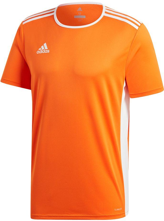 Adidas Koszulka pilkarska Entrada 18 JSY pomaranczowa r. M (CD8366) CD8366