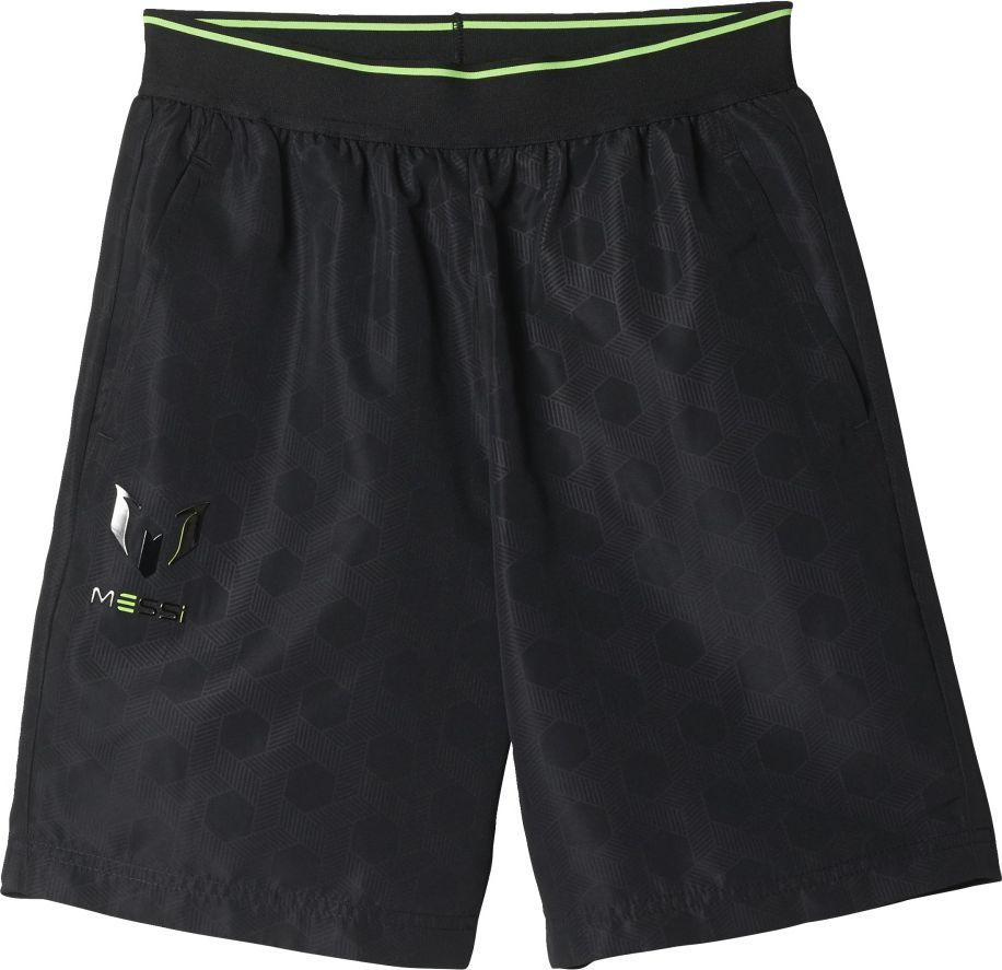 Adidas Spodenki YB Messi Swat czarne r. 164 cm (BJ8470) BJ8470