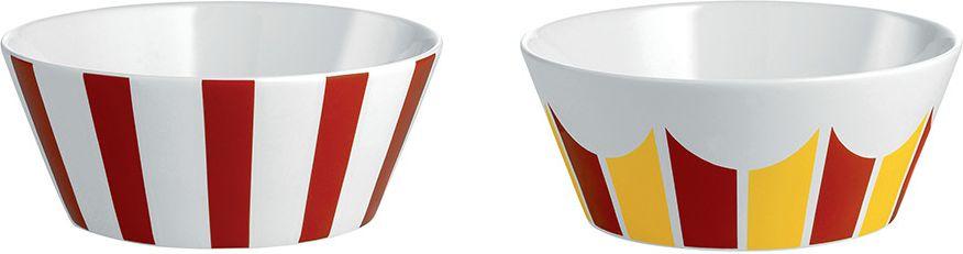 Alessi Zestaw dwoch miseczek z porcelany srednica: 11cm (8003299405015) MW61S2 2