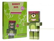 Art and Play Robot Box Robo Monster - 13 100 101 13 100 101