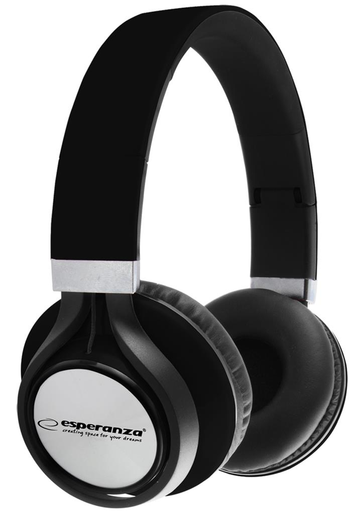 ESPERANZA EH159K FREESTYLE Audio Stereo Headphones with volume control   | 2m austiņas