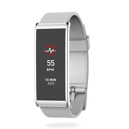 MyKronoz Smartwatch Zefit4 HR White MyKronoz Smartwatch  Zefit4 HR 80 mAh, Touchscreen, Bluetooth, Heart rate monitor, Silver/ white, Activi Viedais pulkstenis, smartwatch