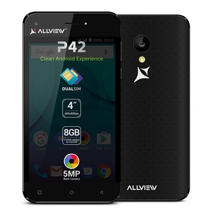 Allview P42 Black, 4.0
