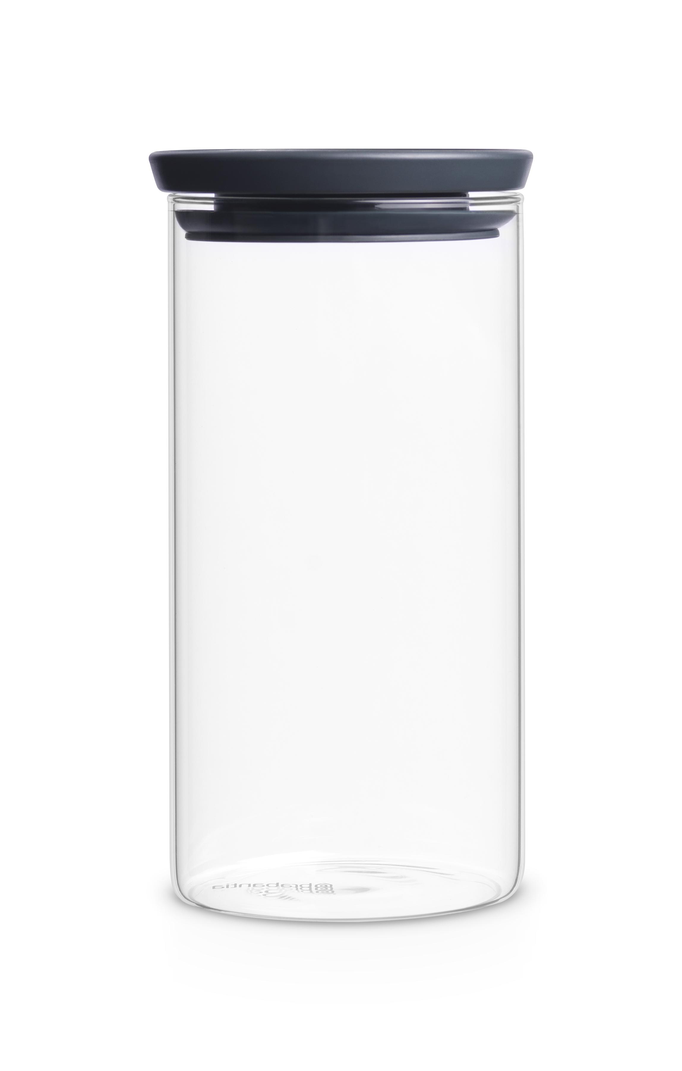 BRABANTIA stikla kārba 1.1 l 298264 Pārtikas uzglabāšanas piederumi