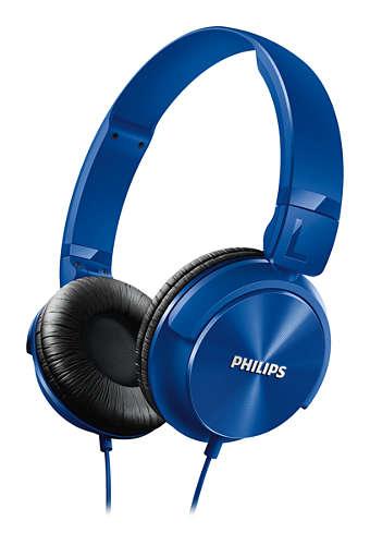 Philips SHL3060BL/00 Blue austiņas