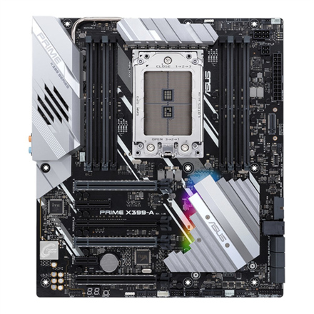 Asus PRIME X399-A Processor family AMD, Processor socket TR4, DDR4-SDRAM 2133,2400,2666,2800,3200,3333,3466,3600 MHz, Memory slots 8, Suppor CPU, procesors