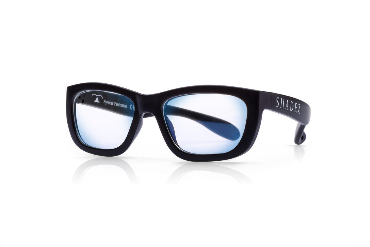 Akcija! SHADEZ Blue Light Black Teeny bērnu brilles digitālajām ierīcēm, 7-16 gadi SHZ 102 6565 saulesbrilles