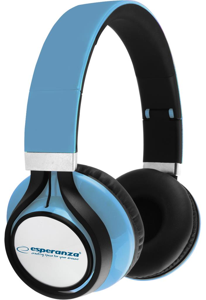 ESPERANZA EH159B FREESTYLE Audio Stereo Headphones with volume control   | 2m austiņas