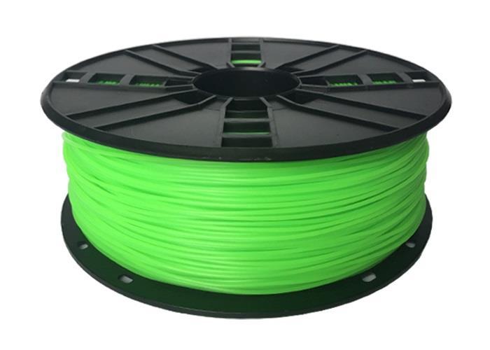 Filament Gembird TPE FLEXIBLE Green | 1,75mm | 1kg 3D printēšanas materiāls