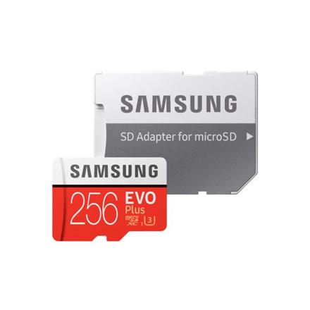 SAMSUNG microSD EVO Plus 256GB Class10 atmiņas karte