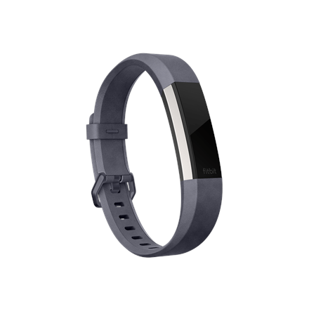 Fitbit Alta HR, Accessory Band, Leather, Indigo - Small 816137023771 Viedais pulkstenis, smartwatch
