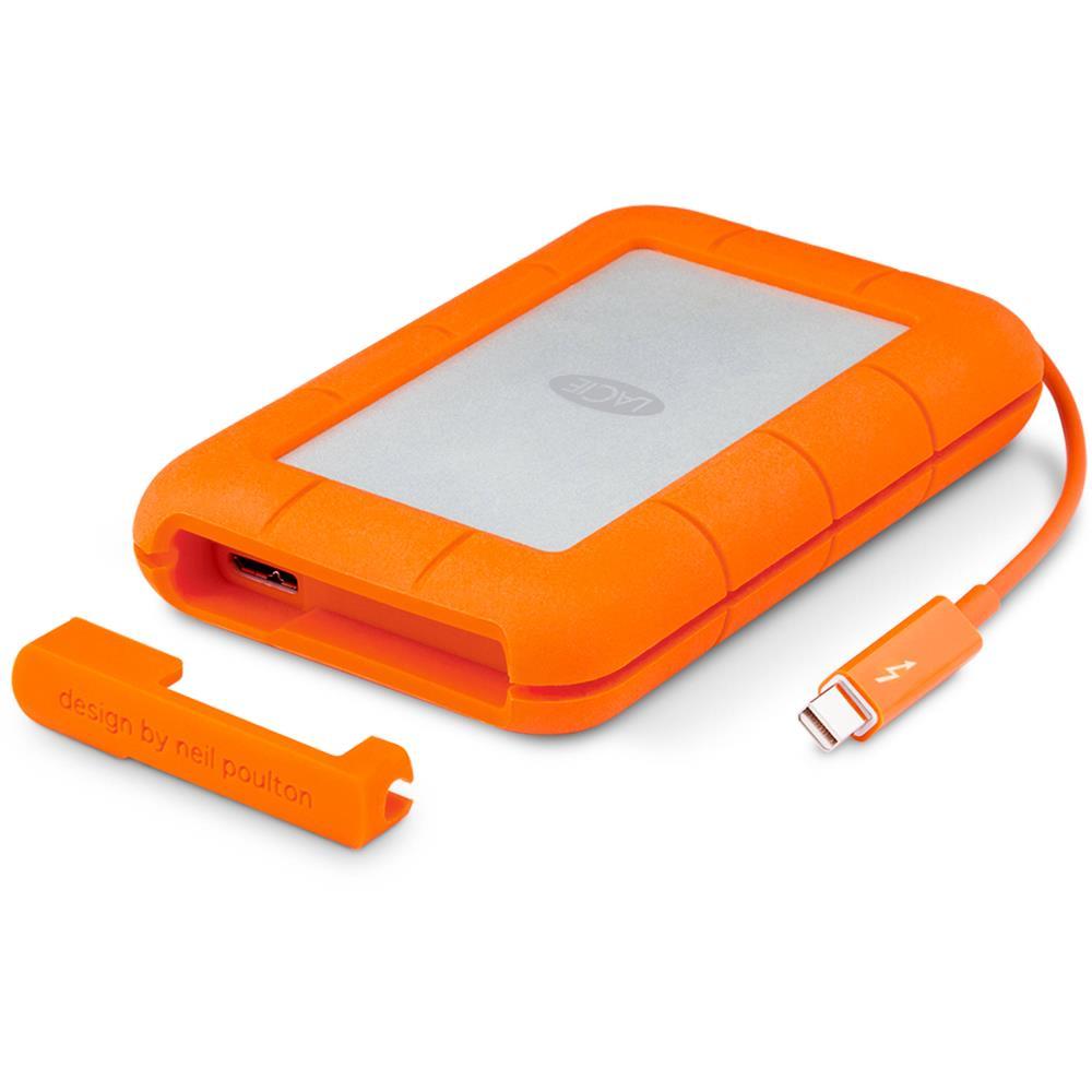 LaCie Rugged V2 2.5'' 2TB USB3 Thunderbolt, IP54 rated resistance Ārējais cietais disks