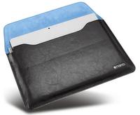 Maroo Leder Sleeve for Microsoft Surface Pro 3 / Pro 4 with magnetischer Frontklappe black planšetdatora soma