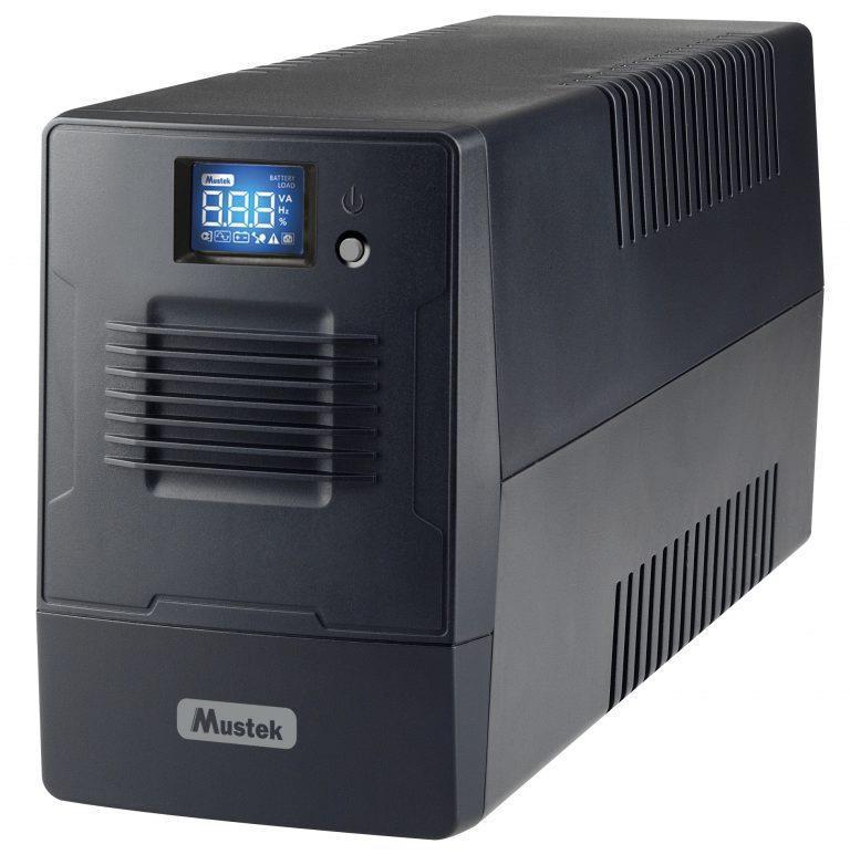 UPS | MUSTEK | 360 Watts | 600 VA | Wave form type Simulated sinewave | LineInteractive | 600-LCD-LI-T10 nepārtrauktas barošanas avots UPS