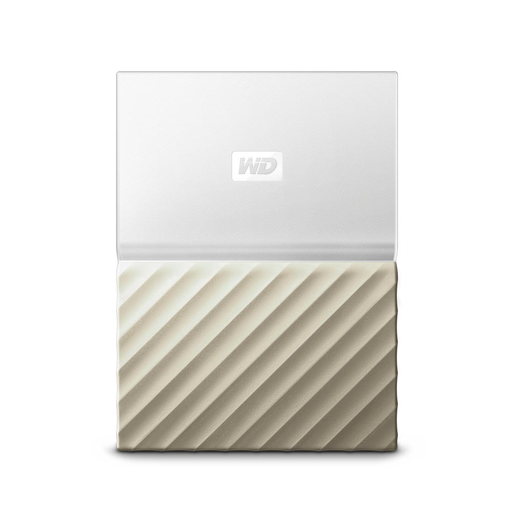 WD My Passport Ultra 2TB White-Gold Ārējais cietais disks