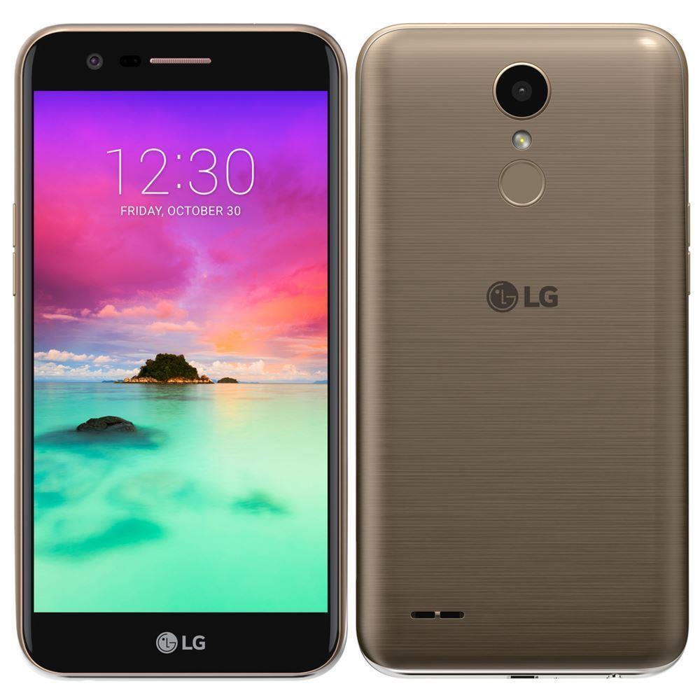 LG K10 DualSim 2017 Black/Gold Mobilais Telefons