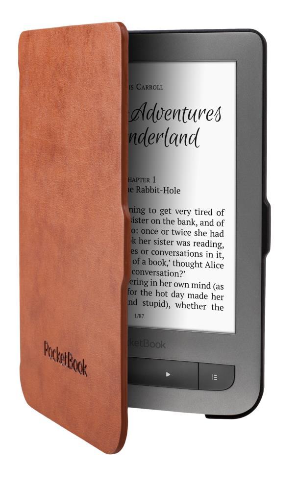 Tablet Case | POCKETBOOK | Brown / Black | JPB626(2)-LB-P Elektroniskais grāmatu lasītājs