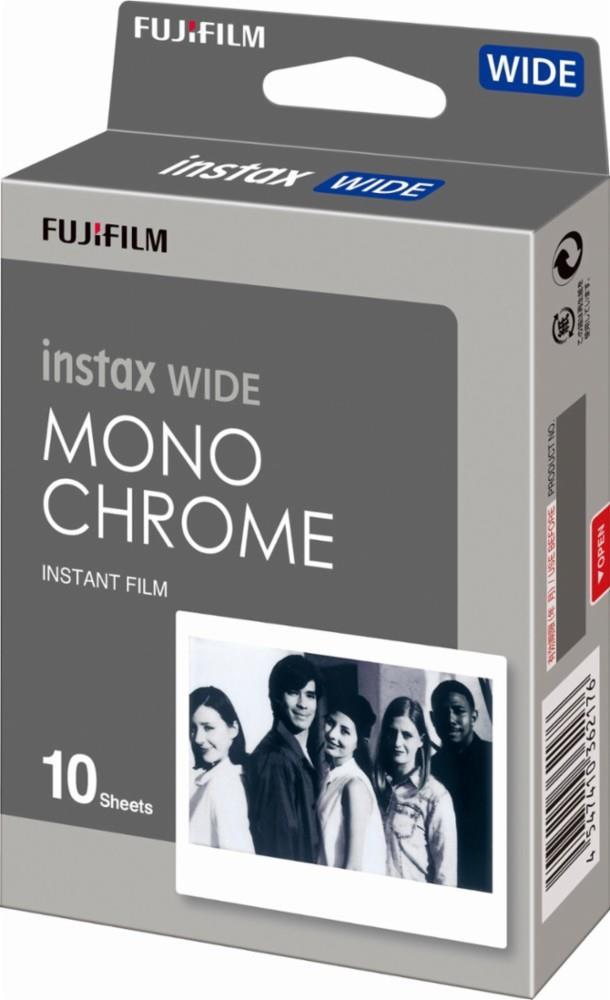 Fujifilm Instax Wide Monochrome Instant film Quantity 10 foto papīrs