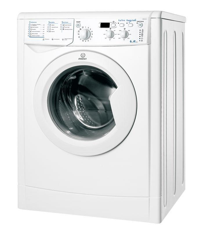 Pralka Indesit IWD 61051 ECO (1000obr/min 6kg Front 53 5cm A+) Veļas mašīna