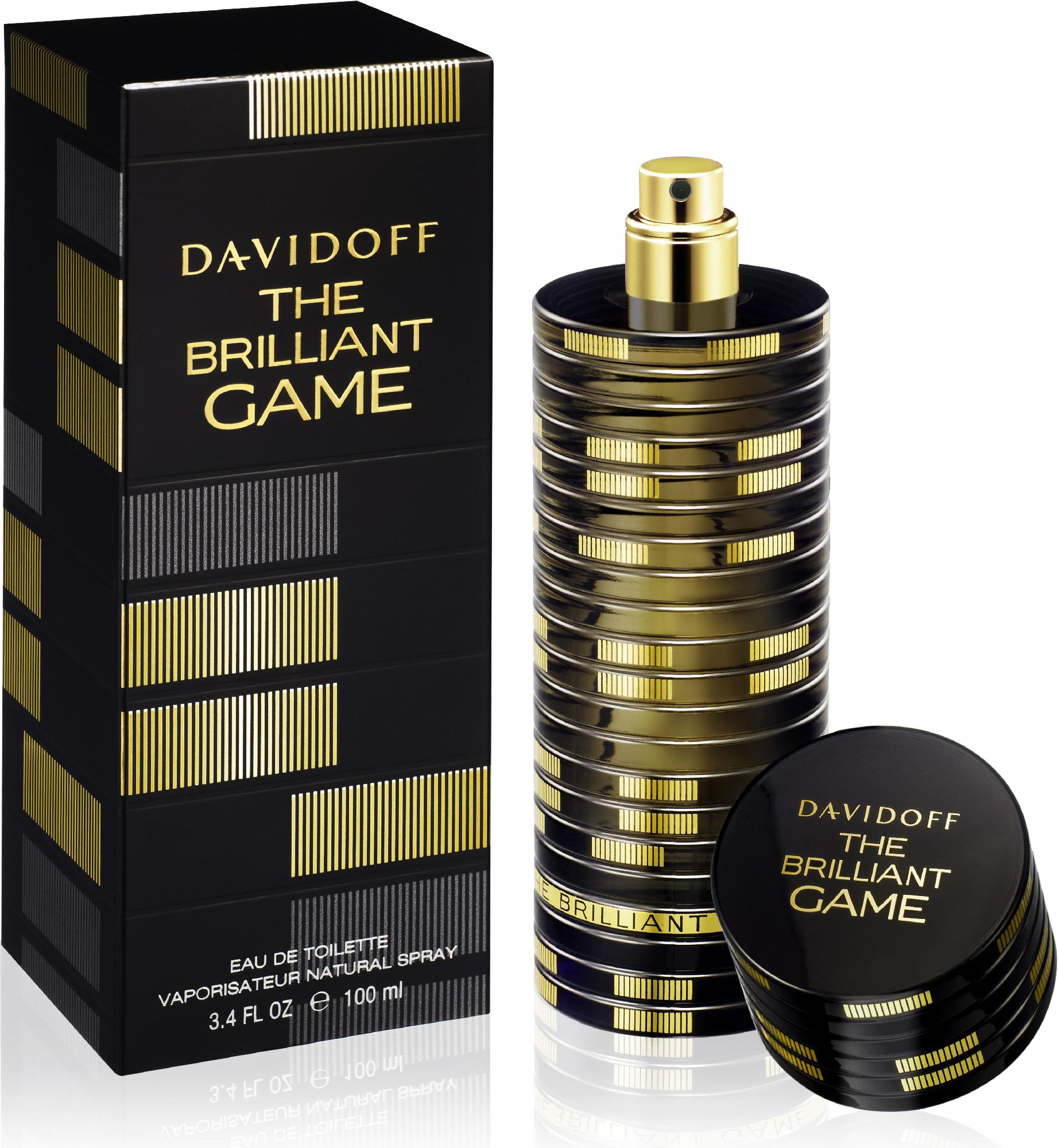Davidoff The Brilliant Game EDT 100ml 618188 Vīriešu Smaržas