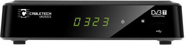 Digital Tuner DVB-T/DVB-T2 MPEG-4 HD Cabletech uztvērējs