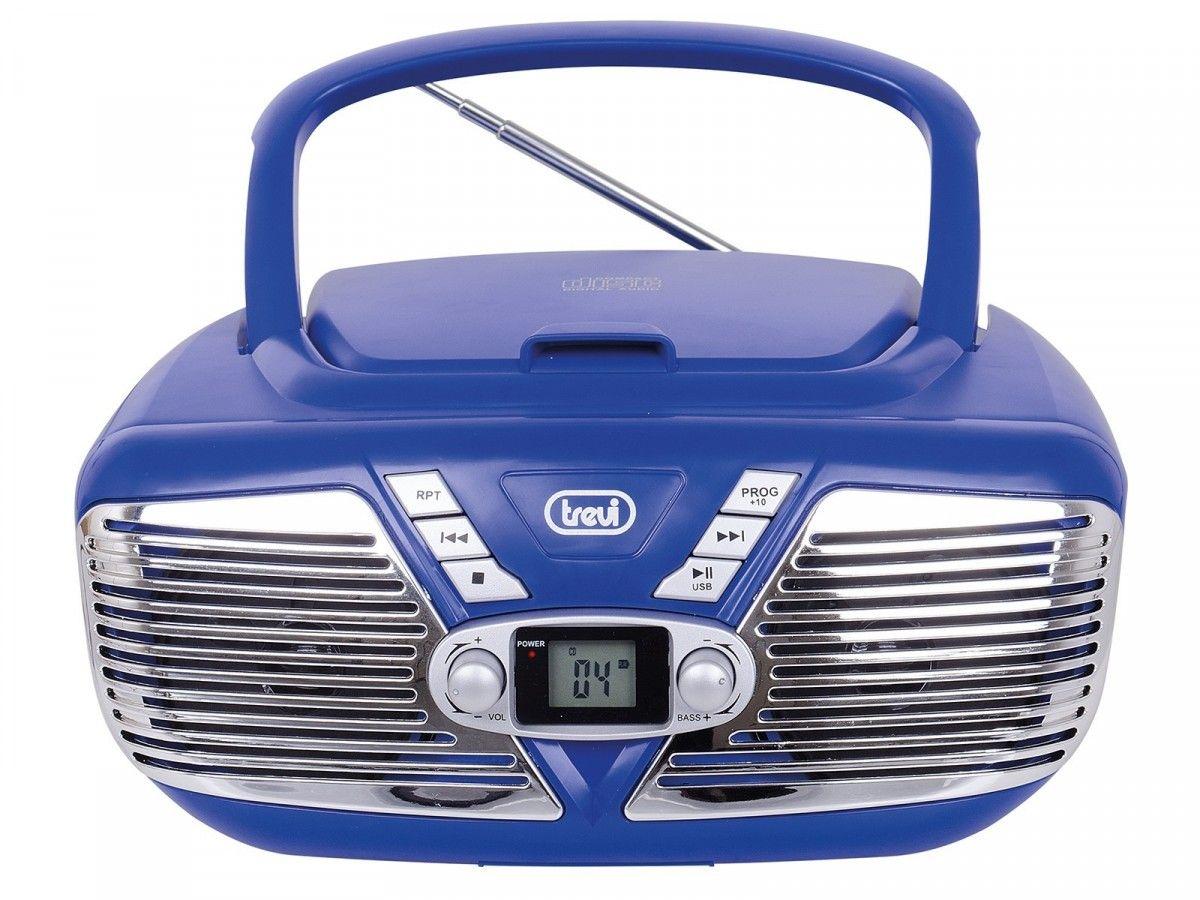BOOMBOX CMP562 CD MP3 BLUE mūzikas centrs