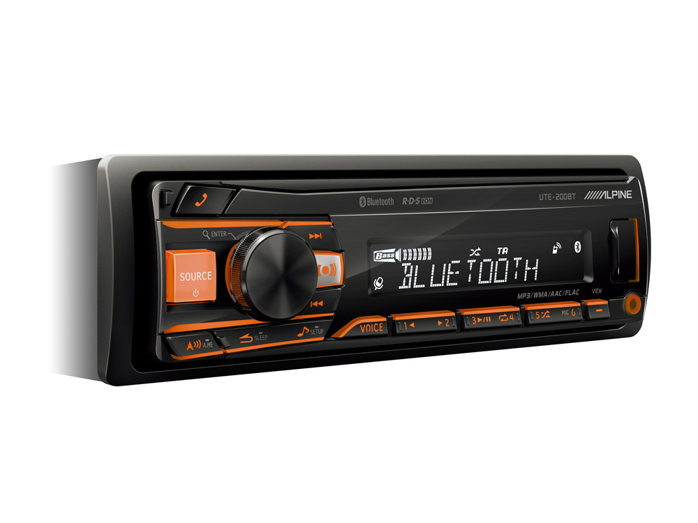 Alpine UTE-200BT DIGITAL MEDIA RECEIVER WITH BLUETOOTH automagnetola