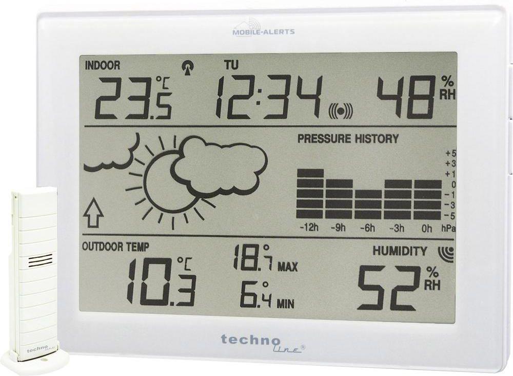 Technoline Mobile Alerts 10410 Basic Station barometrs, termometrs