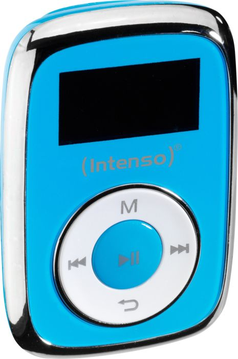 Intenso Music Mover, MP3 player (Blue, 8GB (in the form of a microSD card)) MP3 atskaņotājs
