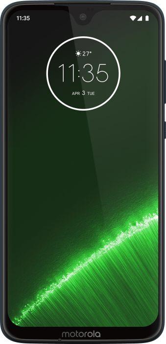 Lenovo Moto G7 Plus 64GB - 6.2 - Android - dark blue Mobilais Telefons
