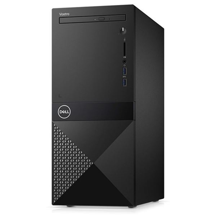Dell Vostro 3670 Desktop, Tower, Intel Core i5, i5-8400, Internal memory 8 GB, DDR4, SSD 256 GB, Intel HD, Tray load DVD Drive (Reads and Wr dators