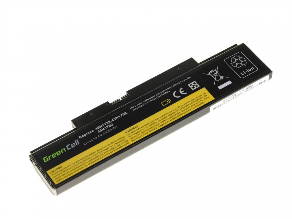 Green Cell for  Lenovo ThinkPad Edge, 4400 mAh (LE80) akumulators, baterija portatīvajiem datoriem