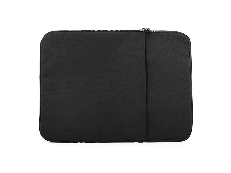 Logic Laptop sleeve PLUSH-15 (15,6'') Black portatīvo datoru soma, apvalks