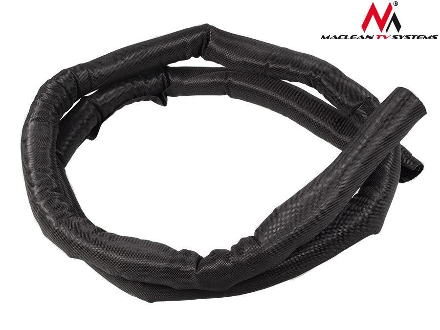 Maclean MCTV-678 B Self-Closing Cable Organizer Audio 29 mm Diameter kabelis, vads