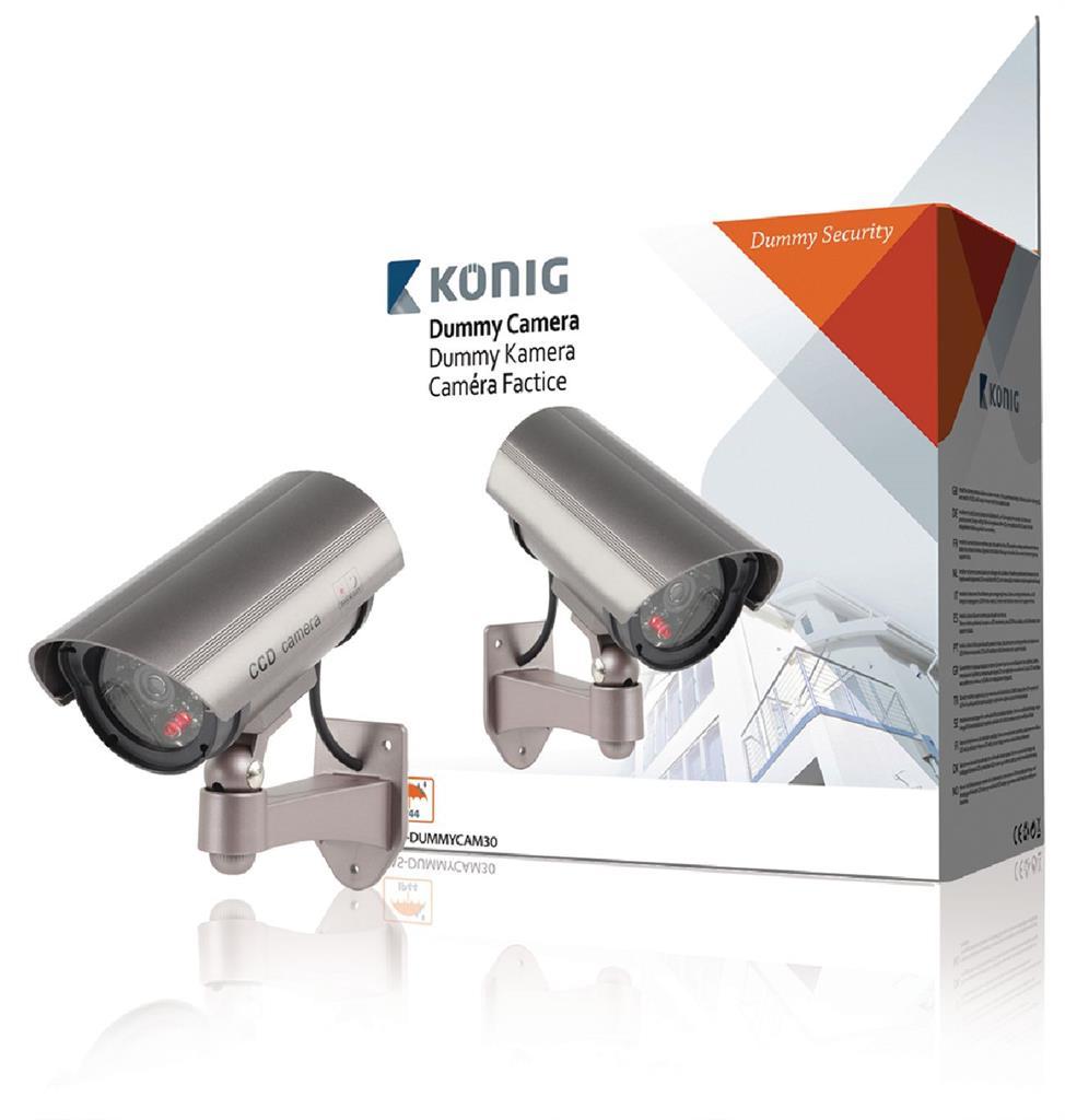 Koenig  dummy outdoor camera IR LED novērošanas kamera