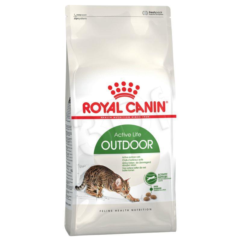 Royal Canin Outdoor 10 kg kaķu barība