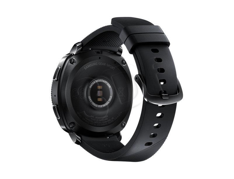 Samsung SM-R600 Gear S3 Sport black Viedais pulkstenis, smartwatch