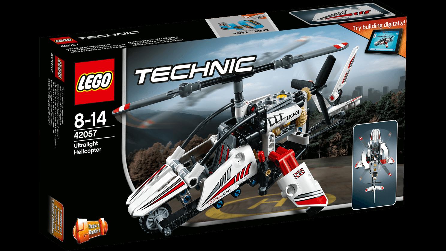 LEGO Technic 42057 Ultralight Helicopter LEGO konstruktors