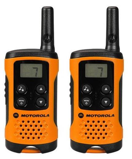 Motorola T41 short-wave radio, 4km, Orange rācijas