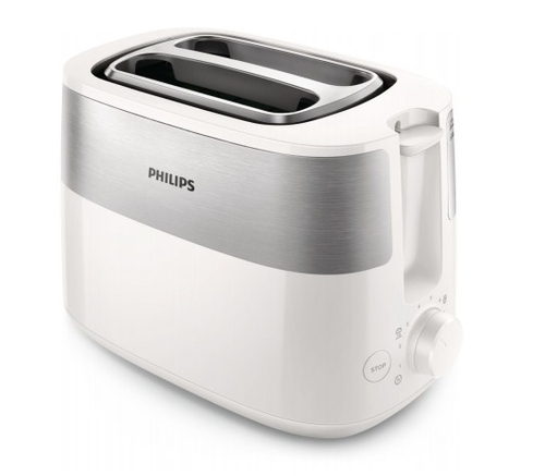 PHILIPS Daily Collection Tosteris, 830 W (balts) HD2516/00 Tosteris