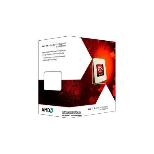 AMD FX-6350 6C 125W AM3+ 14M 4.2G BOX CPU, procesors