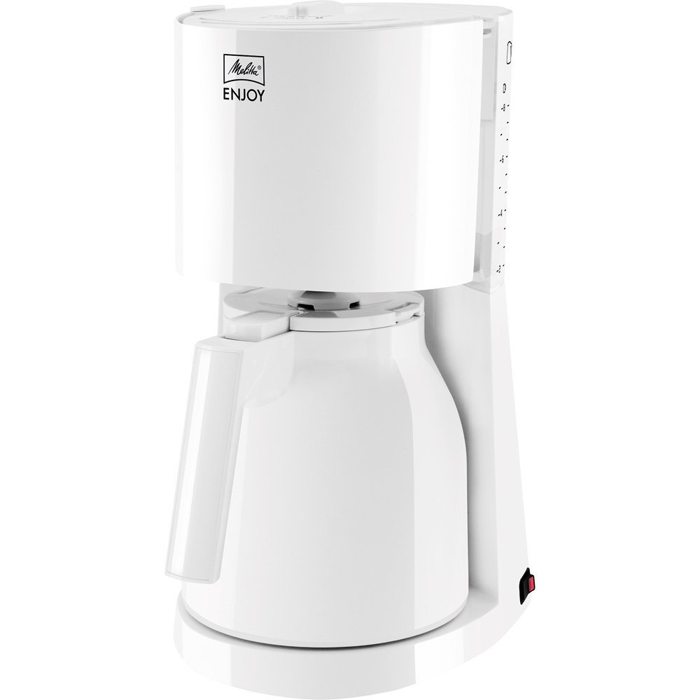 Melitta Enjoy Therm 1017-05 Filterkaffeemaschine White Elektriskā Tējkanna