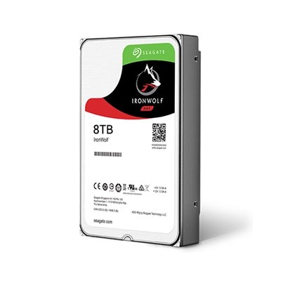 Seagate IronWolf HDD 3.5'' 8TB SATA3 7200RPM 256MB cietais disks